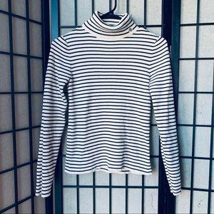 Lauren Ralph Lauren ribbed turtleneck sweater S
